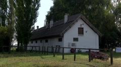 BUGAC PUSZTA,  KISKUNSAG NATIONAL PARK, HUNGARY Stock Footage