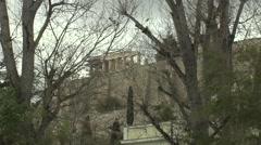 Acropolis Athens,Greece Stock Footage