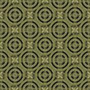Stock Illustration of Geometric Modern Ornament Pattern