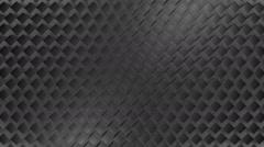 Grey metal square Stock Footage