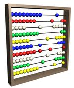 Abacus - stock illustration