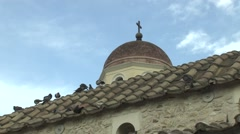 A Church in Athens,Greece Stock Footage