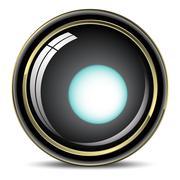 Lens Stock Illustration