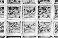 Pattern of glass block - stock photo