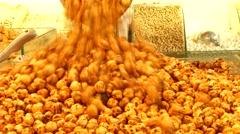Leblebi of Corum, Turkey Stock Footage