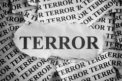 Terror - stock photo