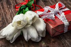 gifts for the holiday - stock photo