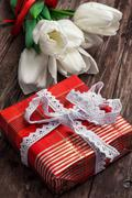 Stock Photo of gifts for the holiday