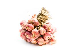 Red onion isolated Stock Photos