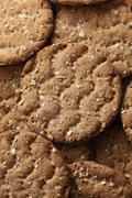 Multigrain Crispbread Stock Photos