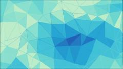 Blue abstract triangle animation. Stock Footage