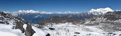 View from Surya Peak - stock photo