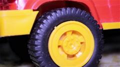Wheel toys cars Stock Footage