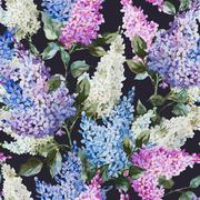 Lilac pattern Stock Illustration