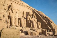 Abu Simbel - stock photo