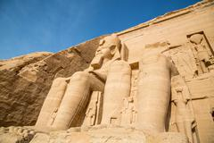 Abu Simbel Stock Photos