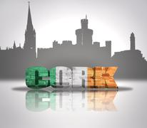 Stock Illustration of View of Cork