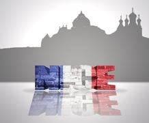 Stock Illustration of View of Nice