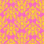 Stock Illustration of Sketchy Damask Background