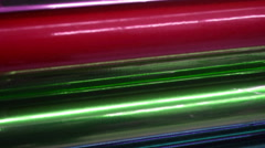 Wrapping paper wrap Stock Footage