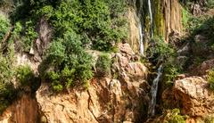 Imouzzer Waterfall near Agadir, Morocco Stock Photos