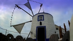 Windmill , Door and front Window Stock Footage