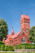 Church of Saints Simon and Helena - stock photo