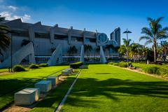 The Convention Center in San Diego, California. - stock photo