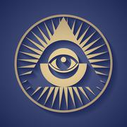 All seeing eye Piirros