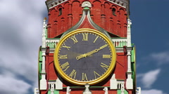 Spasskaya Tower Stock Footage
