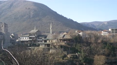 Mostar City 4K - stock footage