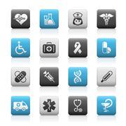 Medicine & Heath Care // Mate Series - Stock Illustration - stock illustration