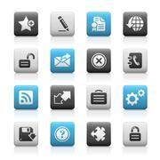Web Site & Internet Plus // Mate Series - Stock Illustration Stock Illustration