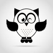 Stock Illustration of owl bird design, vector illustration eps10 graphic