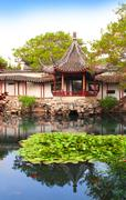 Humble Administrator's Garden in Suzhou, China - stock photo