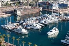 Stock Photo of Harbour of Alicante, Spain