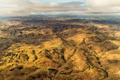 Mountainous Terrain of Madagascar Stock Photos