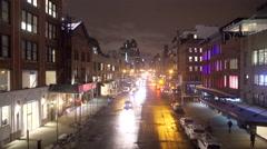 NYC street near the Highline Park - stock footage