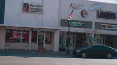 Roswell, NM main street-27 Stock Footage
