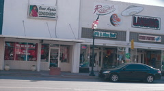 Roswell cars on main street-28 Arkistovideo