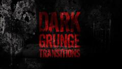 DARK GRUNGE TRANSITIONS Stock After Effects