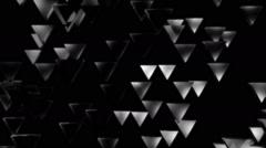 White triagonal lights Stock Footage