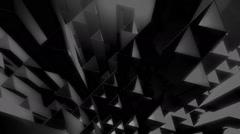 White triangle tubes Stock Footage