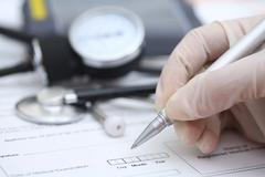 Medical Exam - stock photo