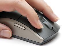 Mouse Clicking Kuvituskuvat