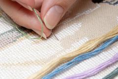 Cross-Stitch (Embroidery) - stock photo