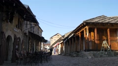 Old streets in Mostar, 4k Stock Footage