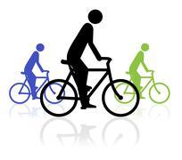 Bike Event - stock illustration