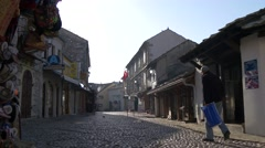 Streets of Mostar 4K Stock Footage