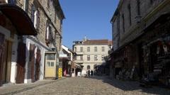 Shopping Street in Mostar 4K Stock Footage